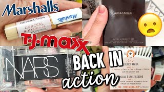 BUDGET BEAUTY BUYS IS BACK!!! TJ MAXX & MARSHALLS | HIGH END MAKEUP FOR CHEAP - HAUL!