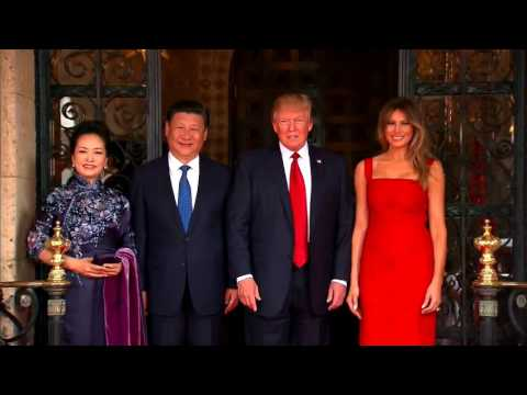 WELCOME: President Trump and Melania Welcome Chinese President Xi Jinping To Mar-A-Lago (FNN)