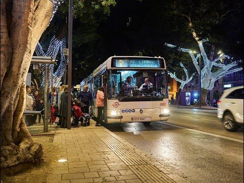 EMT Autobuses En Malaga, Spain