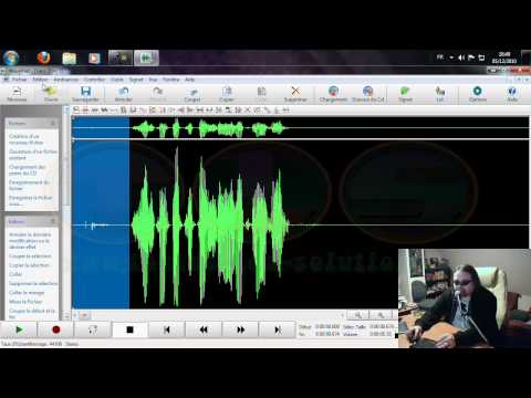 Présentation du programme Wavepad Sound Editor