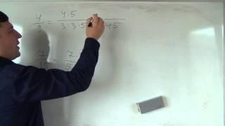 Математика 6 класс. 5 октября. Приведение дробей к общему знаменателю