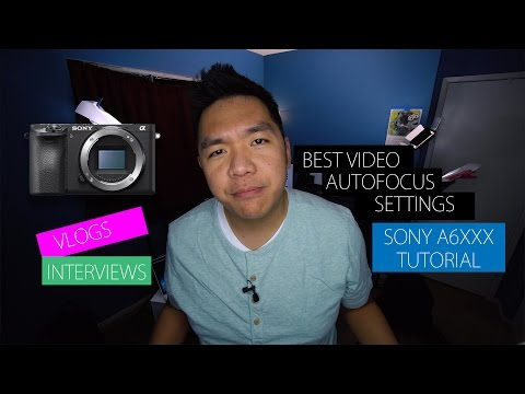Sony Continuous Autofocus Face-Tracking Tutorial for Vlogs and Interviews