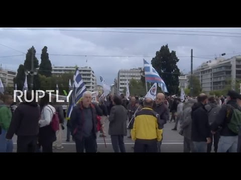 LIVE: Anti-austerity protests to take place in Athens as parliament votes on new measures
