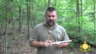 Bow Drill Fire, Part 1 - Making the Set