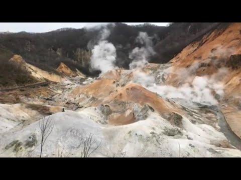 HELL VALLEY | Wastelands in Noboribetsu, Hokkaido