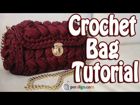 Crochet Bag Tutorial Zig Zag Puff Stitch Purse