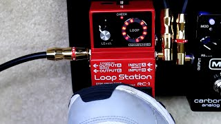 """Megan's Song"" - Boss RC-1 Loop Station Demo"