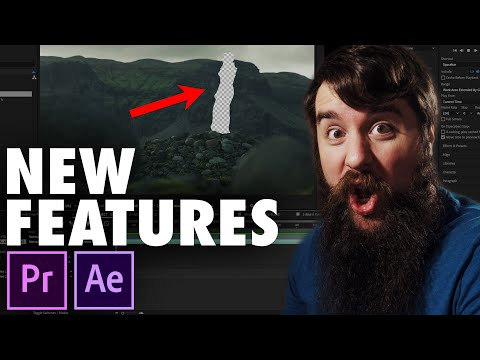 MINDBLOWING New Features in Adobe's After Effects & Premiere Pro CC 2019 Spring/April Update!