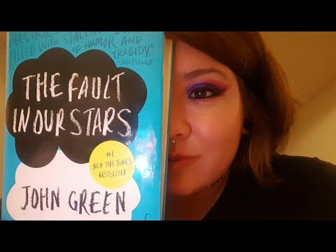📚 ASMR INAUDIBLE WHISPERING, WET MOUTH SOUNDS | CHAPTER 1 : THE FAULT IN OUR STARS 📚