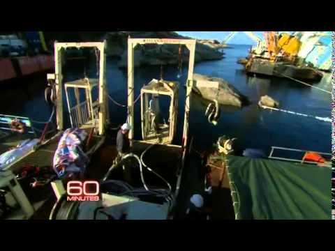 Costa Concordia: Salvaging a shipwrec