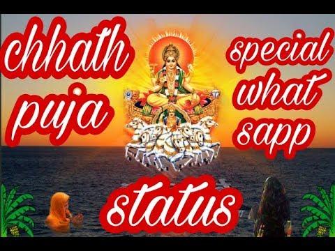 Chhat  Puja WhatsApp Status :JAL Beech Khada Pawan Singh