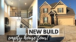 NEW BUILD EMPTY HOUSE TOUR | Moving into our first home!