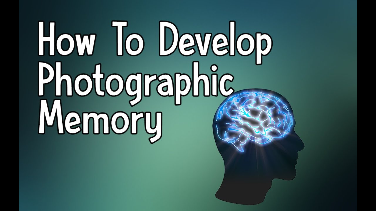Memory photographic how to a develop