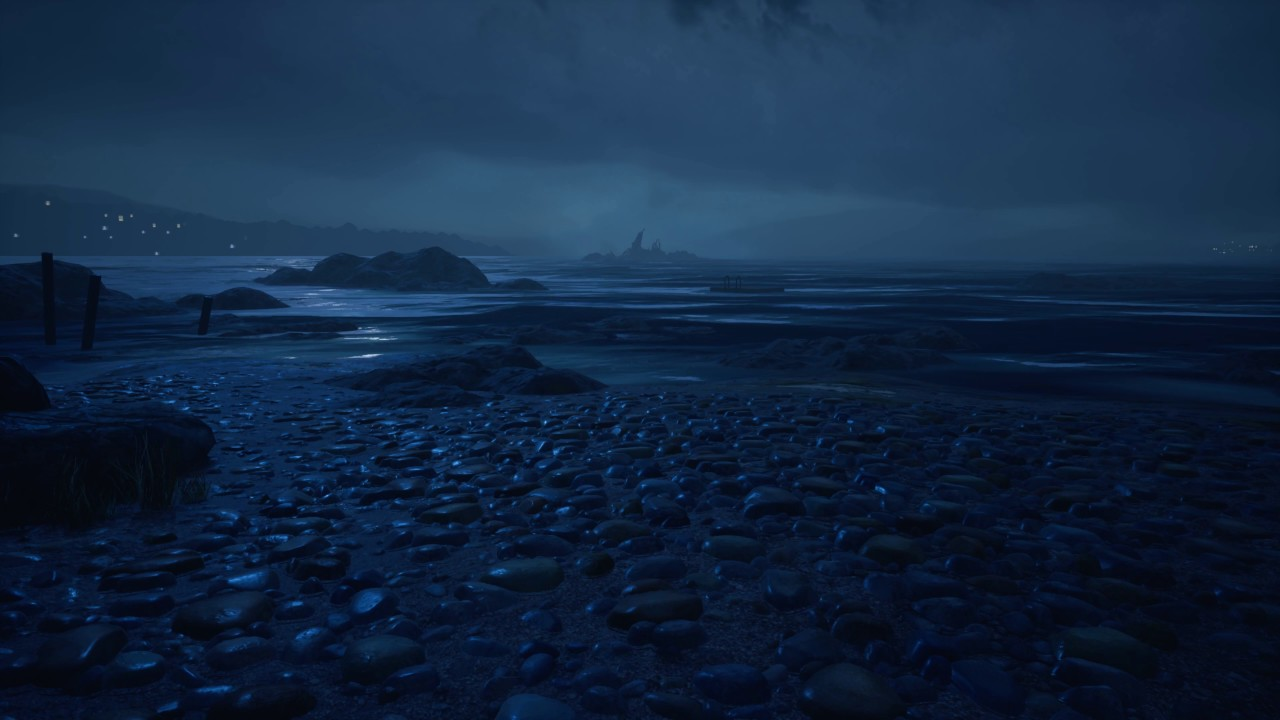 The Dark Beach What Remains Of Edith Finch Live Wallpaper
