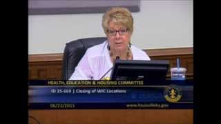 CouncilWoman Welch: What Would It Take to Keep the Three WIC Clinics Open?