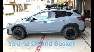 Yakima OffGrid Basket Assembly   2018 Crosstrek