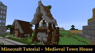 Minecraft Small Medieval Town House