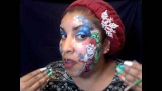 Nightmare Before Christmas Makeup & Face Art Thumbnail
