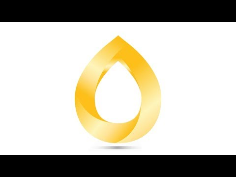 #DESIGNILLUSTRATOR GOLD WATER LOGO DESIGN TUTORIAL / ADOBE ILLUSTRATOR LOGO DESIGN TUTORIAL thumbnail