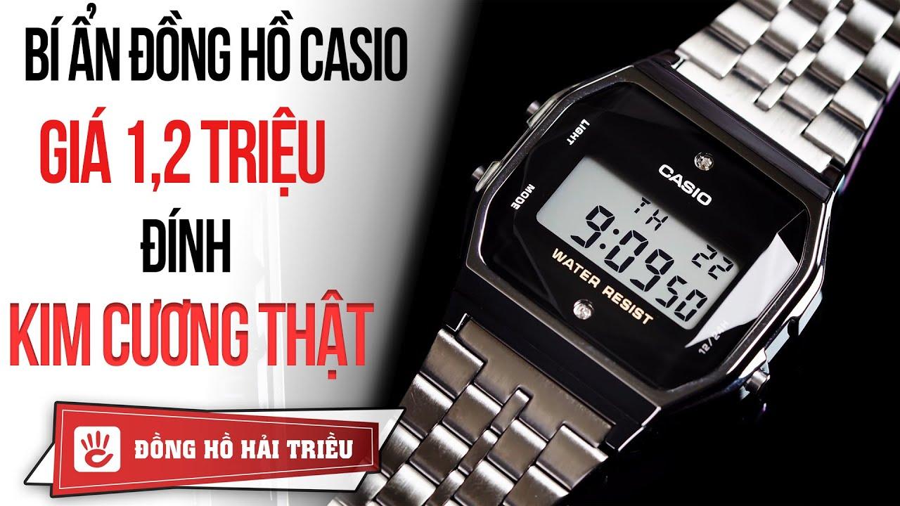 Bí ẩn chiếc đồng hồ Casio đính KIM CƯƠNG thật giá 1 triệu | Tóm tắt các tài liệu liên quan đồng hồ thời trang nữ casio chi tiết