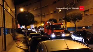 25.10.2014 Incendio de vivienda en San Fernando de Henares