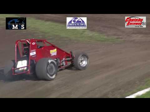 7-15-2016 UMSS Non Wing Sprints Chateau Raceway