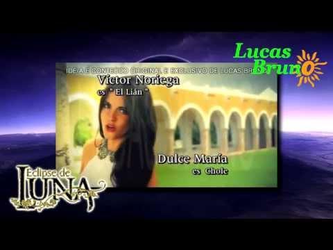 Entrada de la telenovela ''Ese de Luna'' con Maite Perroni  Telenovela Ficticia