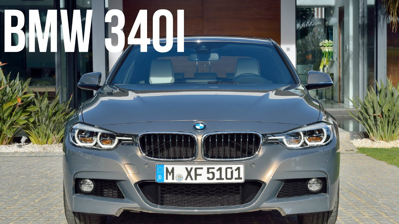2016 bmw 340i sedan m sport package youtube. Black Bedroom Furniture Sets. Home Design Ideas
