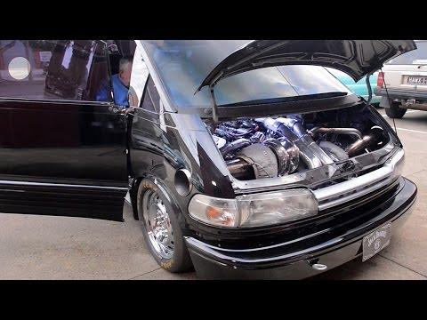 1500+hp Toyota Tarago Van in the build