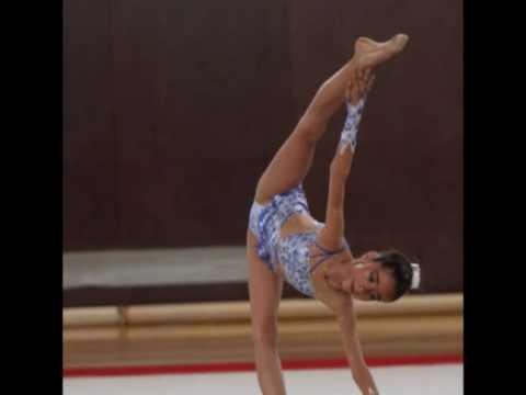 alba sarrias alevin montaje gimnasia ritmica agr catalunya