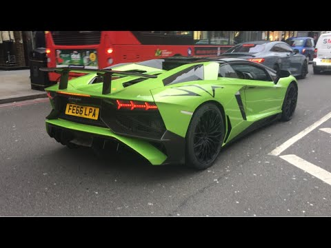 Supercars in London February 2020