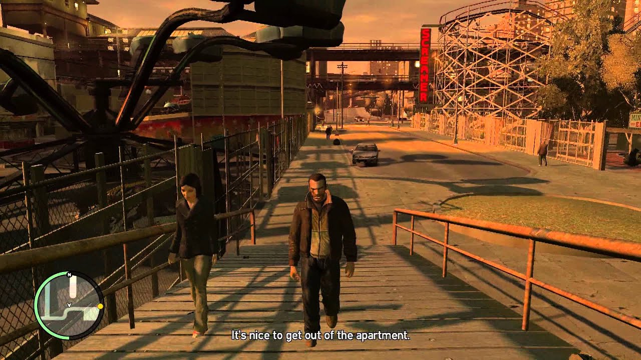 GTA IV - First Date (All Possibilities)