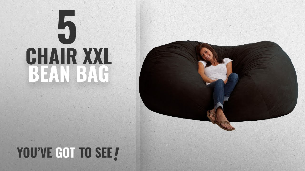 xl bean bag chairs medicare lift top 10 chair xxl 2018 big joe fuf foam filled bigjoe xxlbean comfortxxl