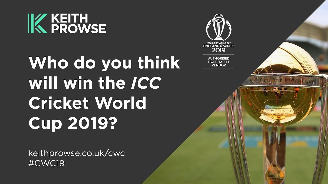 Which Country Will Dominate The Cricket World Cup 2019   Keith Prowse