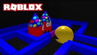 Kid and PVTLawman play ROBLOX Pac-Blox