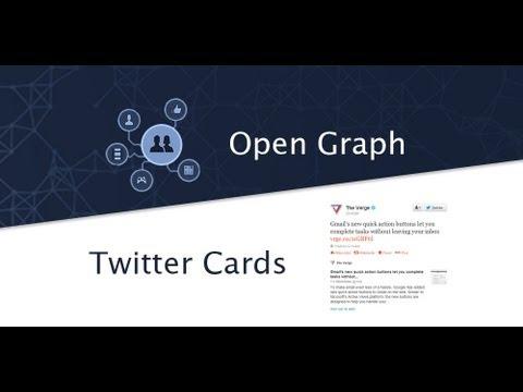 Tutoriel HTML-CSS : Métadonnées : Twitter Cards et Open Graph