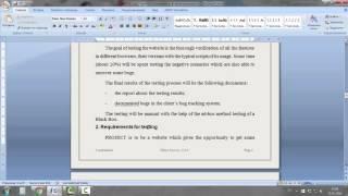 Видео 9. Как написать тест-план