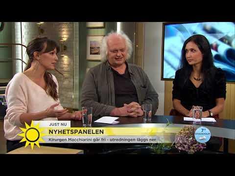 """""""Historien är förskräcklig, jag vill inte möta honom i en operationssal""""  - Nyhetsmorgon (TV4)"""