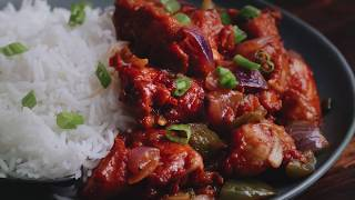 Simple Hakka Style Chili Chicken