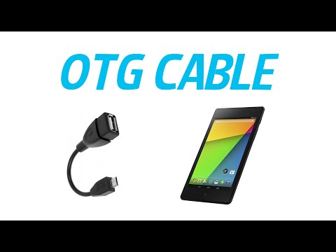 How to transfer data of a USB stick or SD card  OTG Cable  Android