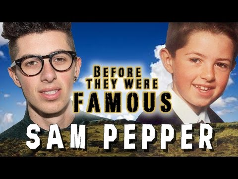 SAM PEPPER - Before They Were Famous