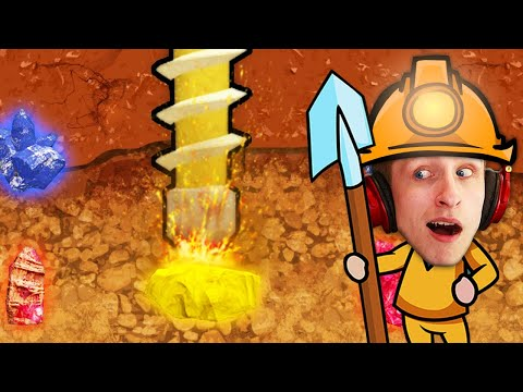 The BEST Drill Into the Earth Game?! (Oil Well Drilling)