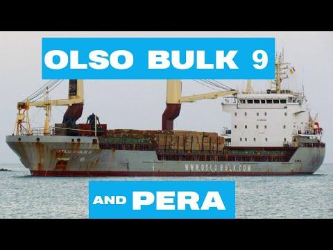Shipspotting Castries St. Lucia || OSLO BULK 9 & PERA || 23/04/2021