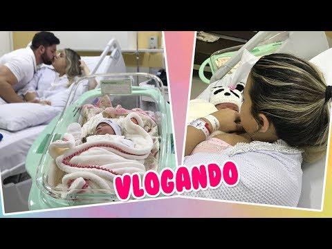 VLOG NASCIMENTO DA ELIZA + PRIMEIROS DIAS NA MATERNIDADE | Kathy Castricini