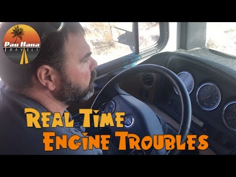 Realtime Engine Issues: Delayed Travel to go into Freightliner for Service | RV Life
