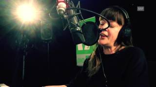 Barbara Morgenstern «Lost in a Fiction» - Live bei SRF Virus