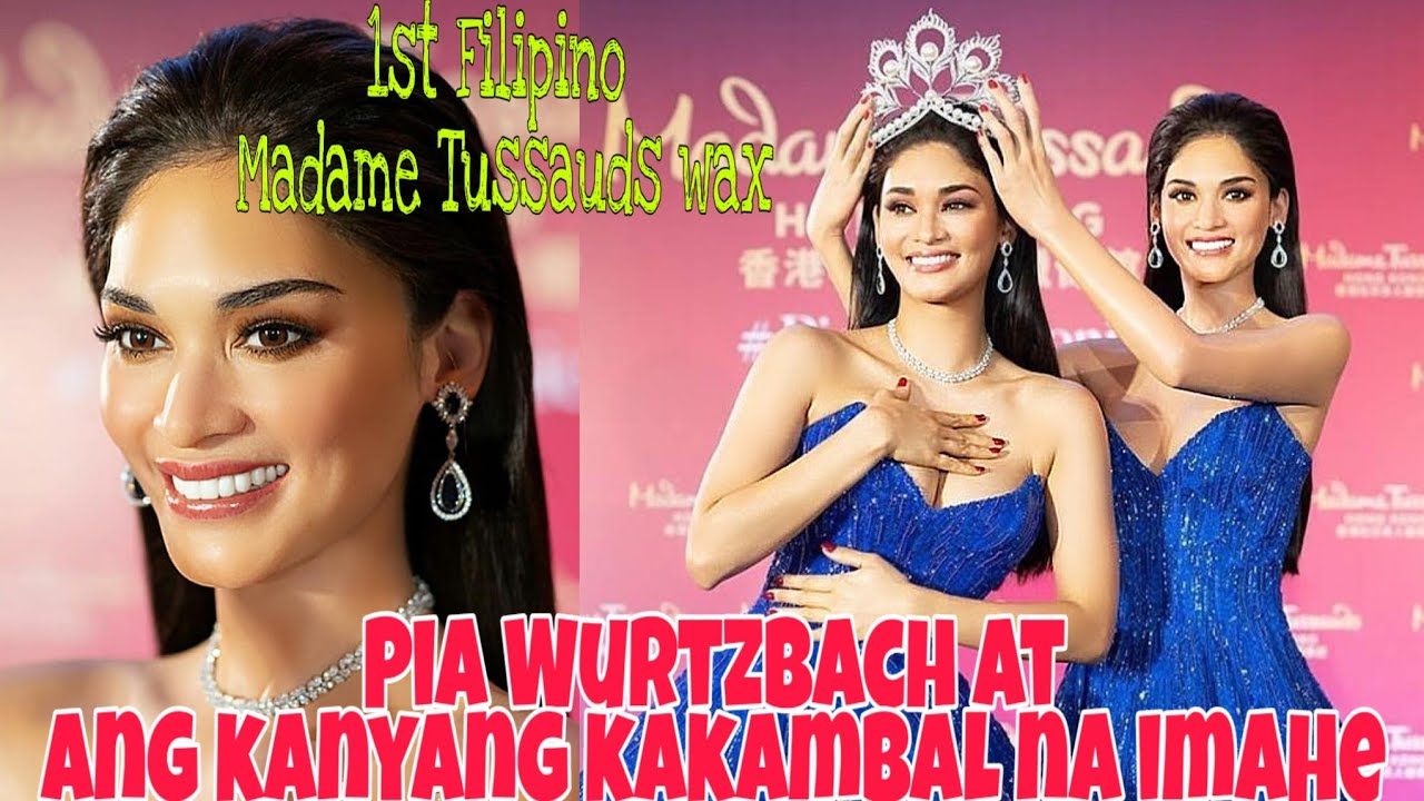 Pia Wurtzbach Madame Tussauds | First Filipino to have a Madame Tussauds  wax image - Love Visit & Explore London