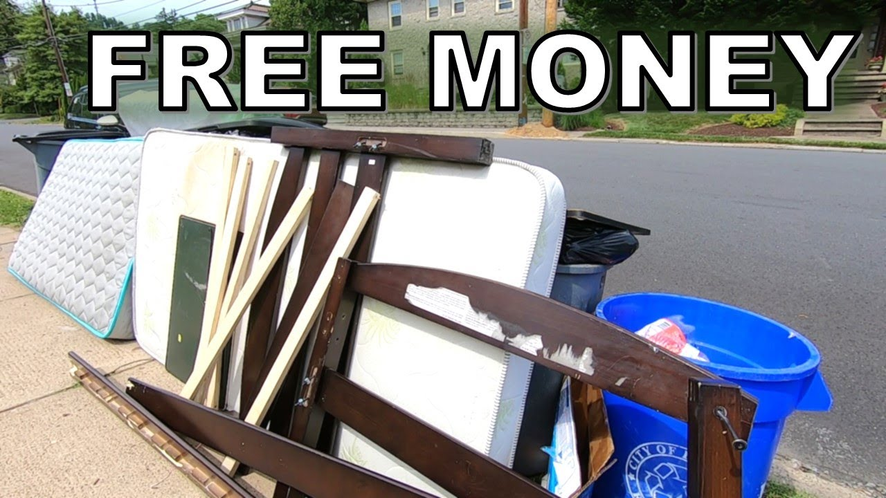 It's ALL FREE! TRASH PICKING For The Flea Market