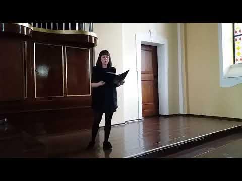 Joanna Wojtaszewska - ''Hallelujah'' L. Cohen