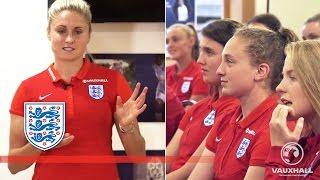 Lionesses Q+A - Senior captain's World Cup advice to U17s | Masterclass